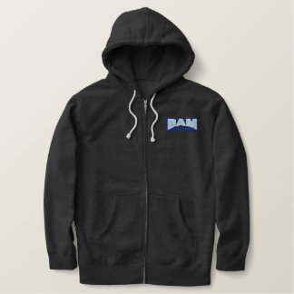 BAM Racing Logo Zip Hoodie
