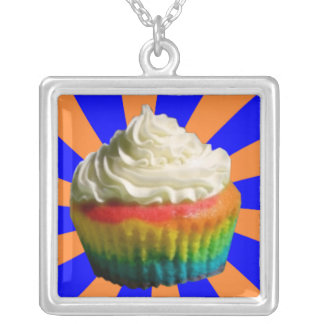 BAM! Rainbow Cupcake Necklace
