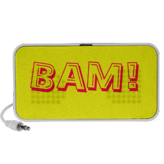 BAM! retro comic speaker