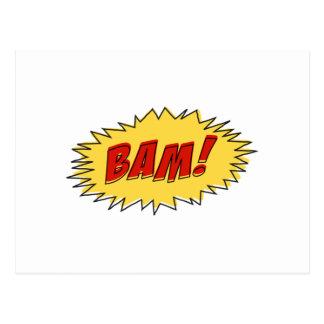 Bam Sign Postcard