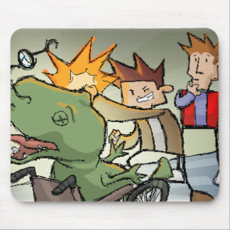 BAM! Totally punched a dino. Mouse Pad