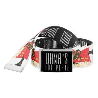 Bama's Hot Plate Belt
