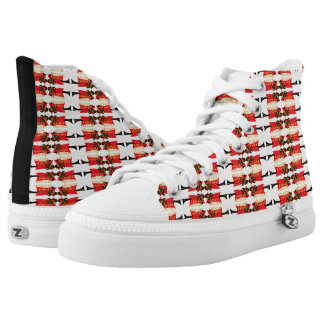 Bama's Hot Plate High Tops