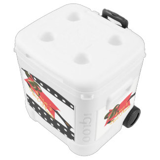 Bama's Hot Plate Rolling Cooler