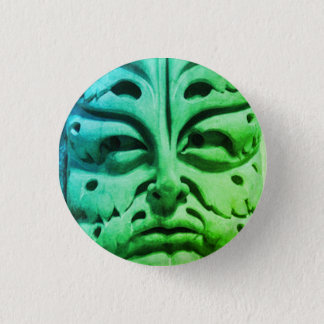 Bamberg Cathedral green man 1 Inch Round Button