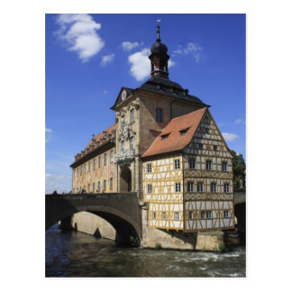 Bamberg, Germany's Rathaus Postcard