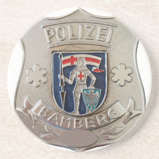 Bamberg Polizei Beverage Coaster