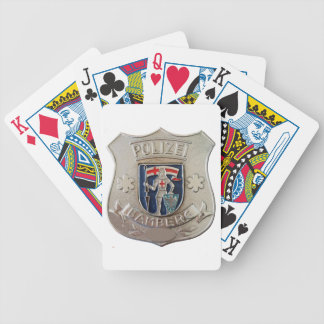 Bamberg Polizei Bicycle Playing Cards