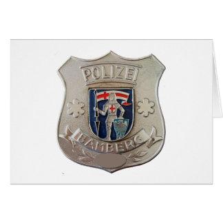 Bamberg Polizei Card