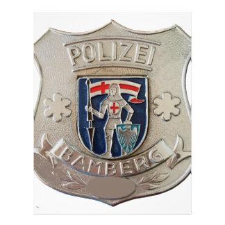 Bamberg Polizei Letterhead