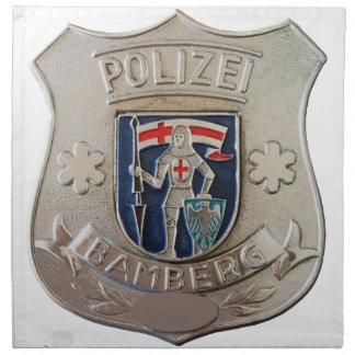 Bamberg Polizei Napkin