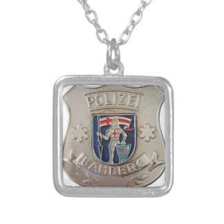 Bamberg Polizei Silver Plated Necklace