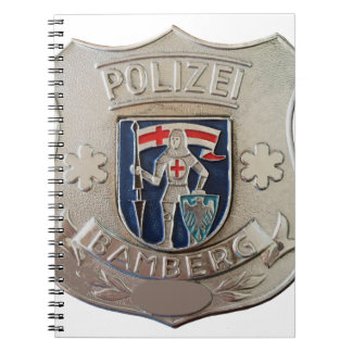 Bamberg Polizei Spiral Notebook
