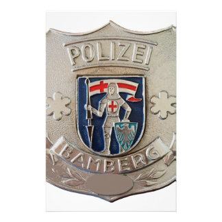 Bamberg Polizei Stationery