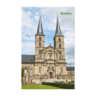 Bamberg Wrapped Canvas