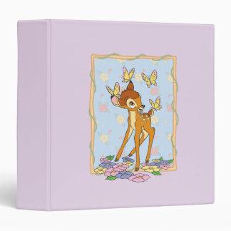 Bambi and Butterflies Binders