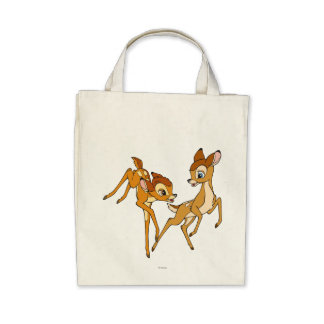 Bambi and Faline Tote Bags