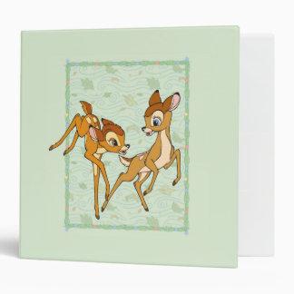Bambi and Faline Vinyl Binder