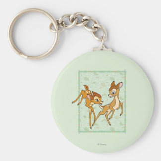 Bambi and Faline Keychain