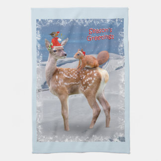 Bambi and Friends Kitchen Towel