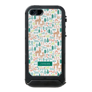 Bambi and Woodland Friends Pattern | Add Your Name Incipio ATLAS ID™ iPhone 5 Case
