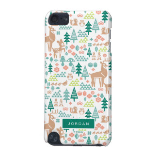 Bambi and Woodland Friends Pattern   Add Your Name iPod Touch 5G Cover