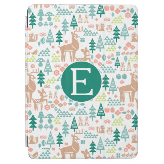 Bambi and Woodland Friends Pattern | Monogram iPad Air Cover