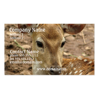 Bambi Deer Business Card