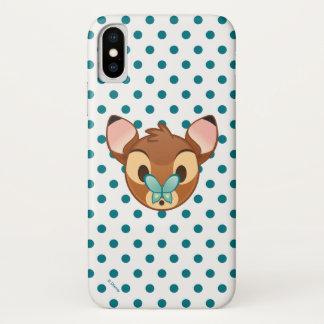 Bambi Emoji iPhone X Case