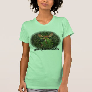 Bambi for president - Customized T-Shirt