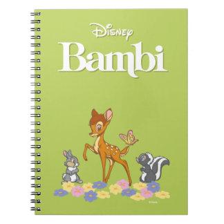 Bambi & Friends Notebooks
