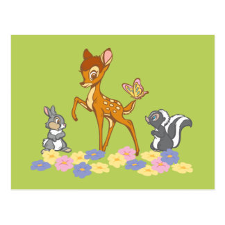 Bambi & Friends Postcard