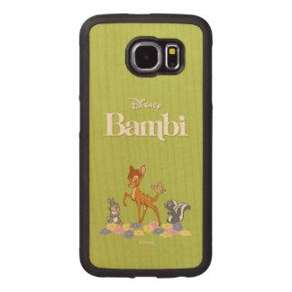 Bambi & Friends Wood Phone Case
