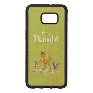 Bambi & Friends Wood Samsung Galaxy S6 Edge Case