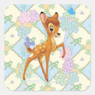 Bambi Square Sticker