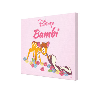 Bambi | Sweet as can be Canvas Print