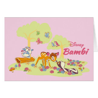 Bambi | Sweet as can be Card
