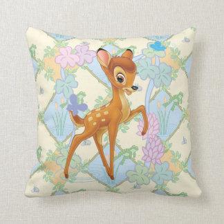 Bambi Throw Pillows