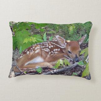 Bambie Deer Roe-deer Accent Pillow