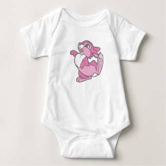 Bambi's Thumper in Pink Baby Bodysuit