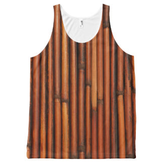 Bamboo All-Over-Print Tank Top