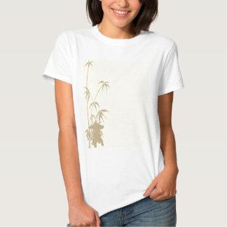 Bamboo and Japanese Lantern T-shirts