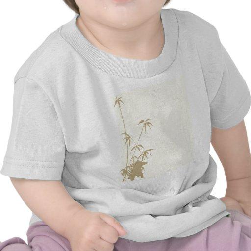 Bamboo and Japanese Lantern Shirt
