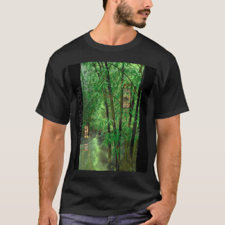 Bamboo And Lanterns T-Shirt