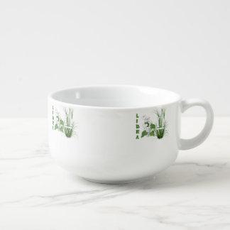 Bamboo and Lily Libra Soup Mug