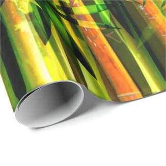Bamboo Art 6 Wrapping Paper