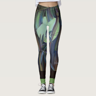 Bamboo Art Leggings