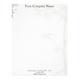 Bamboo Beauty Letterhead Design