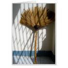Bamboo Broom Card