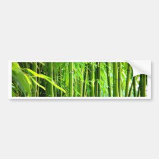 Bamboo Bumper Sticker